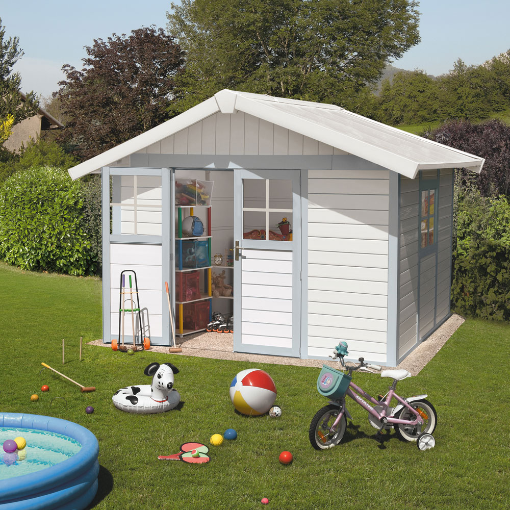 abri de jardin basic home 7.5 m2